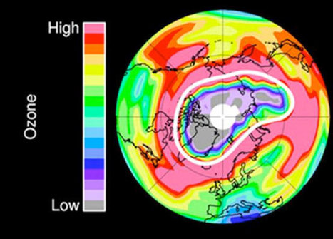 First Arctic Ozone Hole Recorded | Global Warming & Stratosphere | LiveScience | Learning, Teaching & Leading Today | Scoop.it
