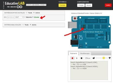 Educative LAB : prenez le contrôle de l'arduino visuellement et simplement | Quai Lab | STI2D_bertrand | Scoop.it