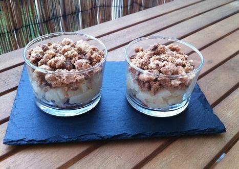Recette du crumble aux poires et spéculoos | <3 Food | Scoop.it