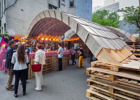 ETH Zurich designers create pavilion out of beverage cartons | DigitAG& journal | Scoop.it