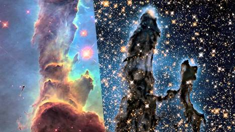 Hubble Return to the Eagle Nebula - Alien UFO Videos   Space, the Solar-System and Beyond   Scoop.it