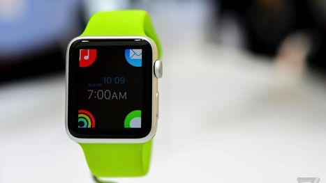 Apple Watch development begins today - 11 things we just learned about how it works | 4D Pipeline - trends & breaking news in Visualization, Virtual Reality, Augmented Reality, 3D, Mobile, and CAD. | Scoop.it