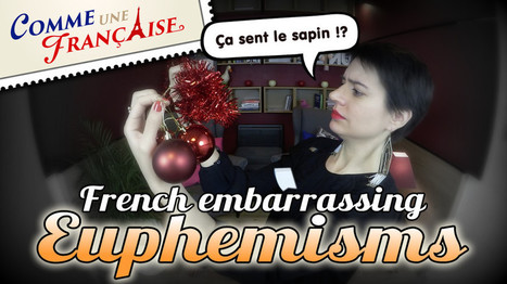 French euphemisms: very embarrassing expressions - Comme une Française | Français FLE, FOS | Apprentissage, Traduction et Révision | Scoop.it