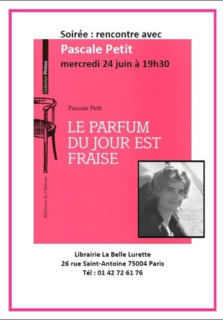 (agenda) 24 juin, Paris, Pascale Petit | Poezibao | Scoop.it