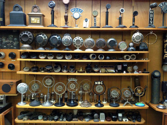 Bob Paquette's Microphone Museum, One Man's Collection of Over 1,000 Early Microphones | Crescat scientia; vita excolatur | Scoop.it