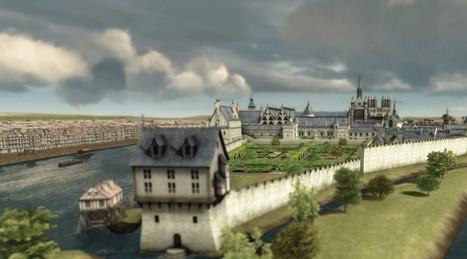 Voici à quoi ressemblait la Sainte-Chapelle au 14e siècle | Clic France | Scoop.it