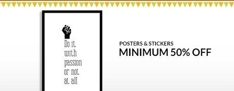 Posters and Stickers - MINIMUM 50% OFF , deals fromHome and Garden, discount voucher from India | thetradeboss | Scoop.it