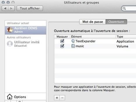 Monter automatiquement un dossier au démarrage de MacOS X | Time to Learn | Scoop.it