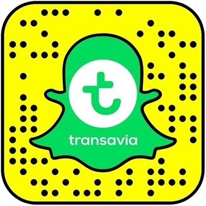 Transavia ouvre un compte sur Snapchat | Médias sociaux et tourisme | Scoop.it