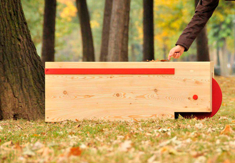 Mobile Log Bench and Planter | Urban Gardens | Unlimited Thinking For Limited Spaces | Urban Gardens | Annie Haven | Haven Brand | Scoop.it
