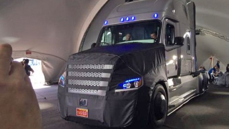 Et voici le premier camion autonome ! | TRIZ et Innovation | Scoop.it