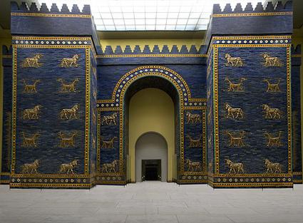Descubren en Irak puerta semejante a la Ishtar de la antigua Babilonia | Historia Antigua | Scoop.it