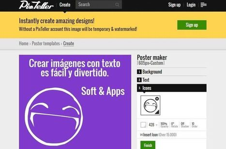 PixTeller: crea online todo tipo de imágenes con tus textos | Cajón de sastre Web 2.0 | Scoop.it