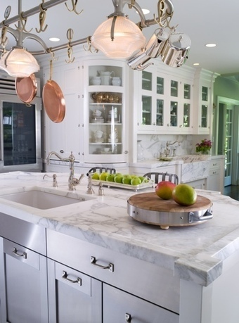 Personalized Kitchen Design for the Seldom Home Bachelor to the Frequent Host | Mercer Stainless Kitchen Sinks | Scoop.it