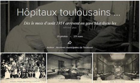 Article du jour (163) : Grande Guerre - Hôpitaux Toulousains | CGMA Généalogie | Scoop.it
