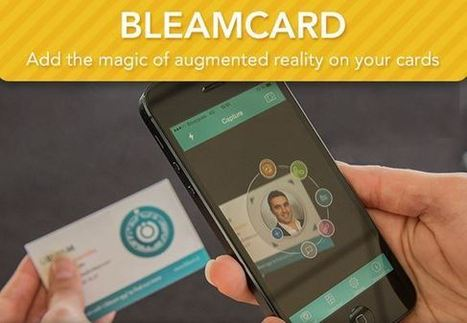 Show Some Marketing AR With The BleamCard! | Augmented Reality Stuff For You | Scoop.it