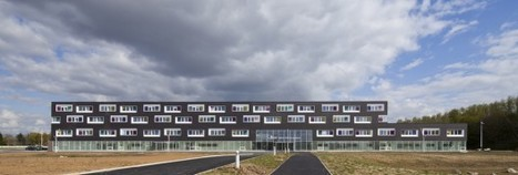 Hospital in Villeneuve d'Ascq / Jean-Philippe Pargade | The Architecture of the City | Scoop.it