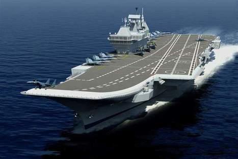 Inde : retard et dépassement de coûts pour le futur porte-avions Vikrant de conception indienne | Newsletter navale | Scoop.it