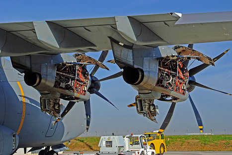 Europrop Cranks Up Production of A400M Engines | Aerospace | Scoop.it