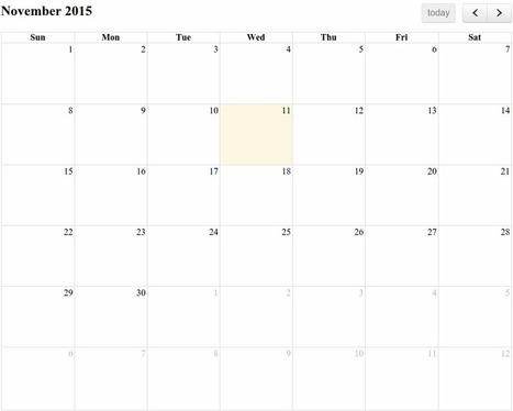 A Comparison of JavaScript Calendars and Schedulers | Web Dev News | Scoop.it