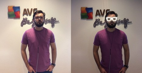 AVG develops glasses that obscure face to facial recognition software | BiometricUpdate | Biometría | Scoop.it