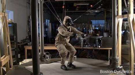 Boston Dynamics : PETMAN sous combinaison Hazmat | Actualité robotique | Scoop.it