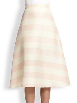 Women Fashion Clothing: Enika Striped A-Line Skirt   Women Fashion Clothing   Set That   Scoop.it