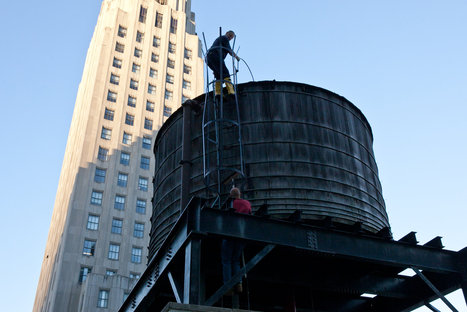 New York's overhead water tanks: E.Coli found  in majority of them | Oven Fresh | Scoop.it