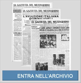 Archivio storico digitale della Gazzetta del Mezzogiorno | Généal'italie | Scoop.it