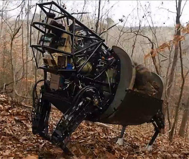 DARPA LS3 Robot Mule Learns New Tricks, Loves a Mud Bath - IEEE Spectrum | Robots and Robotics | Scoop.it