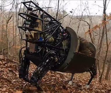 DARPA LS3 Robot Mule Learns to follow | IEEE Spectrum | Robohub | Scoop.it