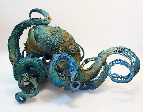 Sculptor Merges Animals And Plants In Otherworldly Sculptures | Art, Photography, etc | Scoop.it