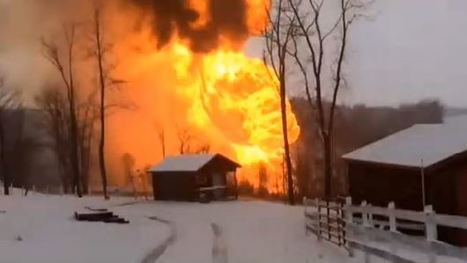 Pipeline Explodes In West Virginia, Sends Fireball Shooting Hundreds Of Feet In The Air | Sustain Our Earth | Scoop.it