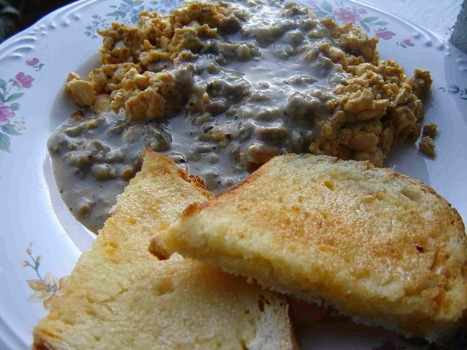 TOFU MOM . . . and gravy!: VeganMoFo2014: Vegan Sausage Gravy | My Vegan recipes | Scoop.it