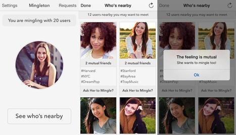 Shy? Mingleton App Lets You Chat Up Others in the Same Room - NBC News | Kickin' Kickers | Scoop.it