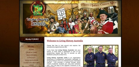 Living History Australia | Humanities curriculum news | Scoop.it