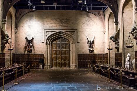 Harry Potter : Poudlard et la grande salle du rez-de-chaussée | photopoesie | Scoop.it