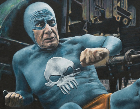 The Life and Times of an Aging Superhero Captured in Oil Paintings by Andreas Englund | Colossal | Visual art | Scoop.it