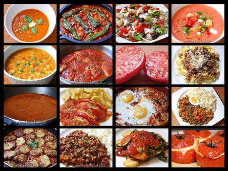 15 recetas con tomates, ahora en temporada - Mercado Calabajío | Comiditas | Scoop.it