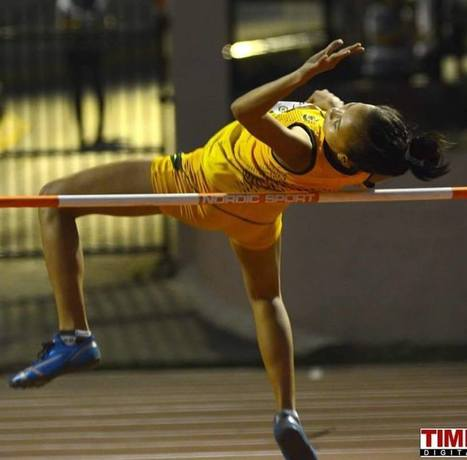 Kaylene Mosqueda National Junior Record in High Jump - Pinoyathletics.info | Philippines Track and Field | Scoop.it