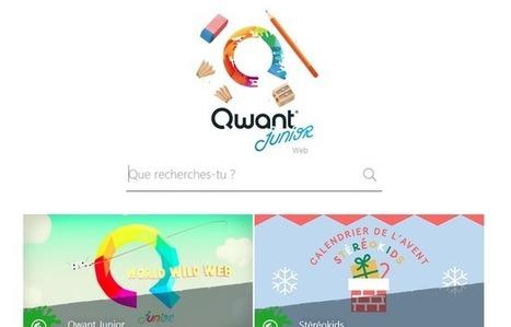 Internet: Qwant lance un moteur de recherche destiné aux enfants | 20 Minutes | -thécaires | Espace jeunesse | Scoop.it