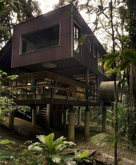 巴西雨林中的生態建築 – Jungle/Beach House | ㄇㄞˋ點子靈感創意誌 | 建築 | Scoop.it