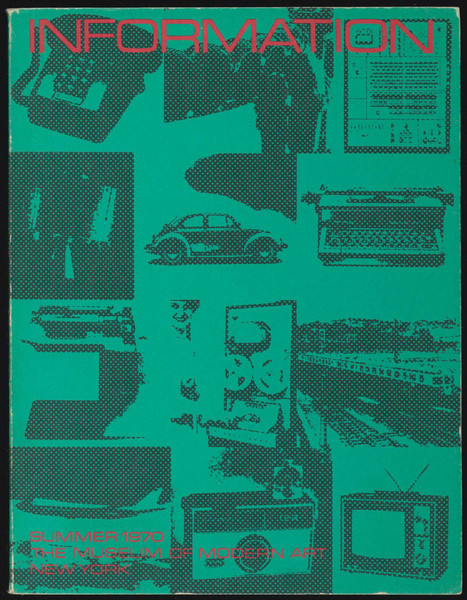 Kynaston L. McShine (ed.): Information (1970) — Monoskop Log | Research_topic | Scoop.it