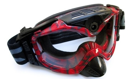 Another cool-looking pair of Video-cam Goggles - this time in 1080p | Freeride skiing | Scoop.it