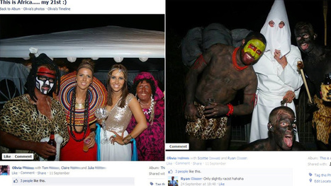 Racist 21st Birthday Party Gleefully Documented on Facebook   Racism   Scoop.it