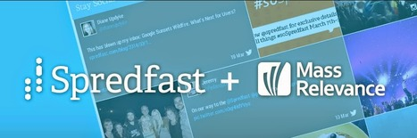 Social-Marketing Startups Spredfast and Mass Relevance Merge | Social TV & Second Screen Information Repository | Scoop.it