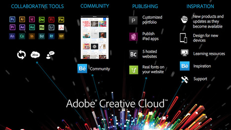 Say Goodbye to Creative Suite: Adobe CS Is Now Creative Cloud | News from the edge & beyond | Scoop.it