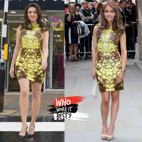Who wore it best? Samia Ghadie vs Kelly Brook - Sexy Balla | News Daily About Sexy Balla | Scoop.it