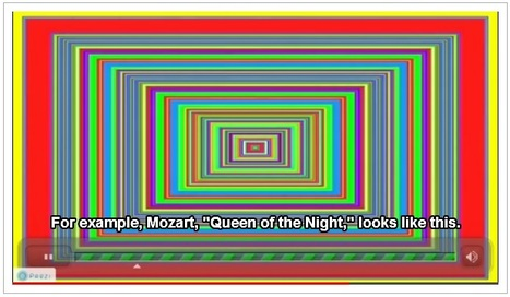 Listening to Mozart: a yellow experience | How A Colorblind Cyborg 'Hears' Color | TEDWeekends | Mozart 3.0 | Scoop.it