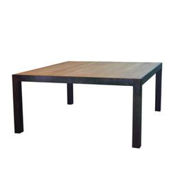 Dadra | Mesas de hierro y madera estilo industrial medida | MESA COMEDOR NEO 8 SOBRE DE ROBLE | Muebles de estilo industrial de hierro | Scoop.it
